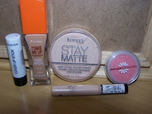 face products used