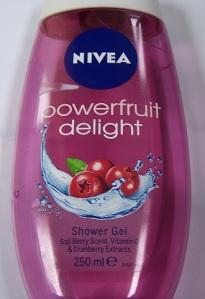 nivea powerful delight shower gel