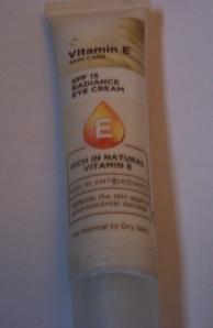 superdrug vitami e radiance eye cream