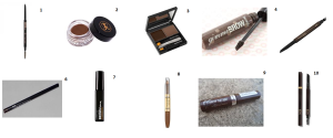 Brow wishlist
