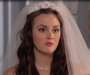 blair waldorf wedding day
