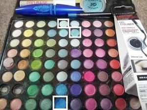 eye makeup used