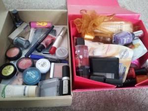 give and makeup stuff