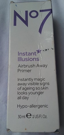 No7 Instant Illusions Airbrush Away Primer | Nina Ross Beauty