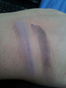 lilac and eye rimz