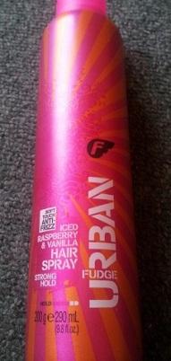 fudge hairspray