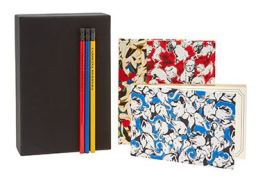 carolina herrera journal and pencil set