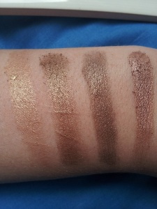 half baked swatches