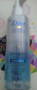 dove oxygen moisture